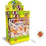 CASA DEL DOLCE Magic Lollies Piatto, Lecca Lecca al Gusto Frutta, Box da 200 Pezzi, Incartati Singolarmente, Made in…