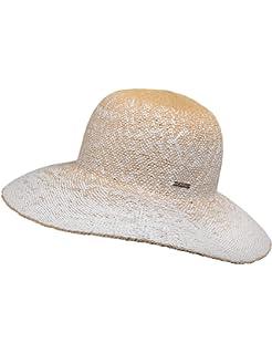 cd5525df4d220 CaPO SAN Marino Hat Fedora Noir (Black 20) Small Femme  Amazon.fr ...