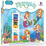 Toykraft: Pictured in Sand & Sequin - Mermaids | Sand Art and Craft Kit | Gift for Girls | Kids Craft Activity Kit for 5-8 Ye