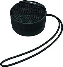 (CERTIFIED REFURBISHED) Philips BT40BK/94 Portable Wireless Bluetooth Speaker (Black)