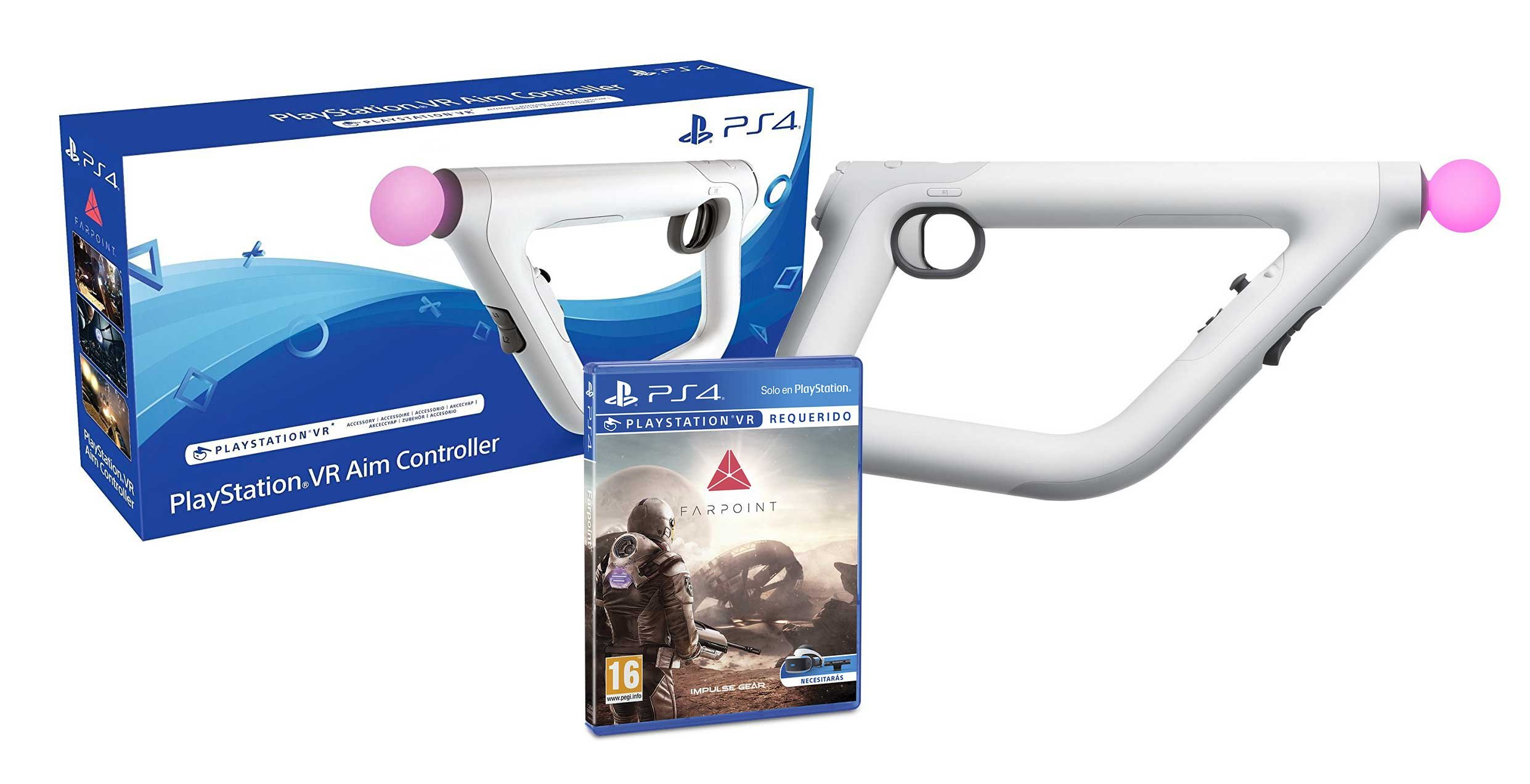 Aim Controller PS4 + Farpoint – Playstation 4