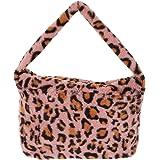 VALICLUD Hobo Umhängetasche aus Kunstfell mit Tasche mit Reißverschluss für Damen