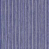 Denim Streifen 5 marineblau — Meterware ab 0,5 m — zum