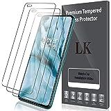 LK Compatible avec OnePlus Nord Protection écran, 3 Pièces,Verre Trempé,Dureté 9H,Protection d'écran Verre Trempe Vitre