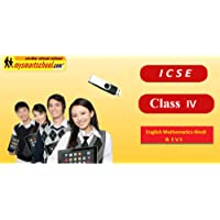 Class Fourth (IV th) ICSE Board USB Pendrive Course (Engilsh Maths Hindi Evs) with FUN Songs Plenty of FUNSHEETS All Lessons are Interactive Multimedia Video Lessons with multiple Questions on the Basis of ICSE Evaluation Blue Print