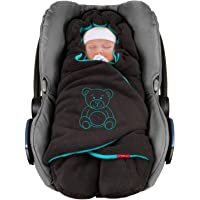 """ByBoom Baby Copertina invernale avvolgente per il bebè""""l'originale con l'orsetto"""", universale per ovetto, seggiolino…"""