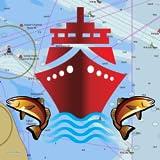 i-Boating:GPS Cartes nautiques / Marine - mer hors ligne, navigation lac & rivière pour pêche & voile