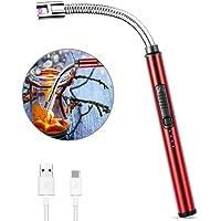 MOSUO Allume Bougie Electrique, USB Rechargeable Briquet Electrique Briquet Arc Électronique avec Flexible 360º Coupe…