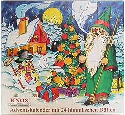 Knox Räucherkerzen Adventskalender Verschiedene Sorten - Made in Germany