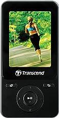 Transcend MP710 Digital Music Player, 8GB (Black)