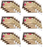 Kuber Industries Non Woven Single Packing Saree Cover 24 pcs Set (Beige) ,CTKNEW106