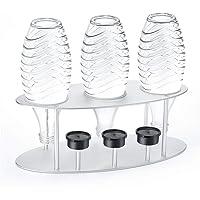 Jelly Comb Drip Holder, porte-bouteille Drip Stand égouttoir avec support de couvercle en alliage d'aluminium pour…