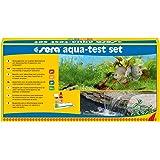 Sera 04000 Aqua-Test Set, Set Test per Acquario e laghetto con i 4 Principali Test di Acqua PH, GH, KH, NO2 Acqua di…