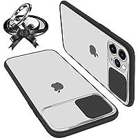 Custodie con Protezione Fotocamera Compatibile con iPhone 12/12 Pro Anti-Graffio Anti-Impronta Hard PC Bordo Ultra…