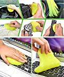 Car Detailing Cleaning Gel - Dust Vent Crevice Interior Detail Removal Detailing Putty Magic Gel Compound Dust Wiper...