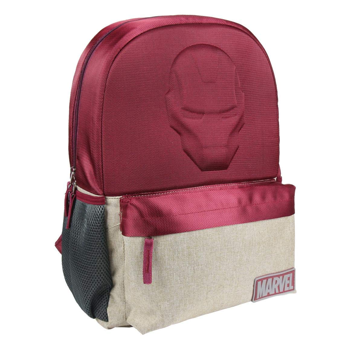 71JwDmzxrqL - Mochila Escolar Instituto Avengers Iron Man