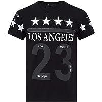 TIME IS MONEY Men's Football Top Short Sleeves Games Star T Shirt Crew Neck Big Sizes 3XL 4XL 5XL