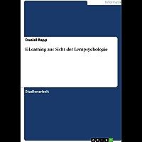 E-Learning aus Sicht der Lernpsychologie (German Edition)