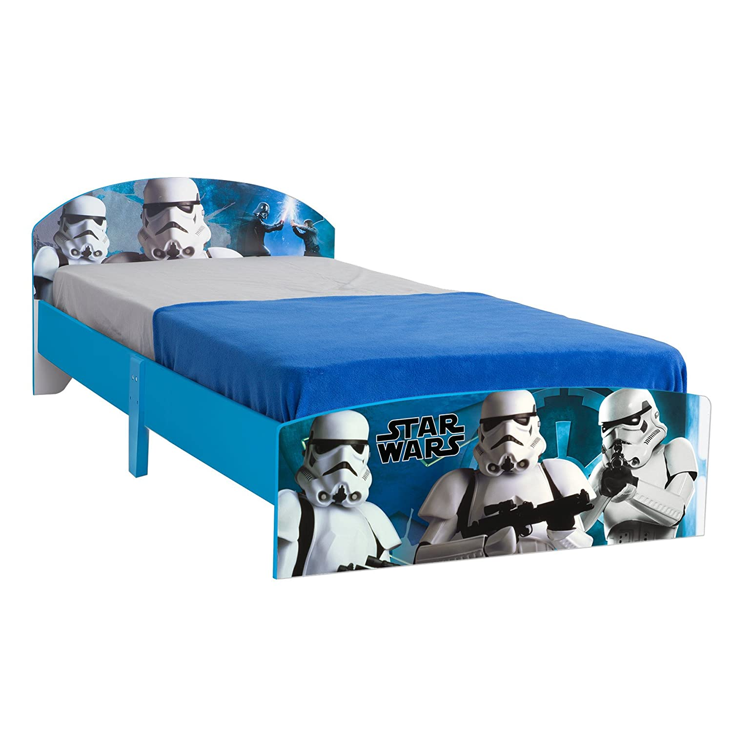star wars stormtrooper single bed by hellohome blue amazoncouk kitchen amp home: decor uk accslx x