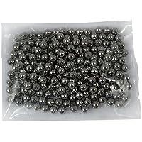 1500 Umarex .177 Pellet Aria Acciaio BB Ammo palline di metallo color argento lucidato 4.5mm
