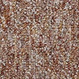 Teppichboden Auslegware | Schlinge gemustert | 200, 300, 400 und 500 cm Breite | rot terra | Meterware, verschiedene Größen | Größe: Muster