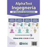 Alpha Test. Ingegneria. Kit completo di preparazione. Manuale di preparazione-Esercizi commentati-Prove di verifica-3800…
