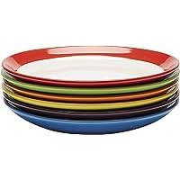 Assiettes Plates - Ensemble Assiettes de Table - Set Assiette Grès - Lot Assiette de Table - Ensemble Vaisselle Assiette…
