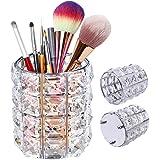 XCOZU Soporte para brochas de maquillaje, Organizador de maquillaje soporte para pinceles, Almacenamiento de maquillaje para