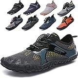 Lvptsh Zapatos de Agua para Hombre Zapatos de Playa Zapatillas Minimalistas de Barefoot Secado Rápido Calcetines de Piel Desc