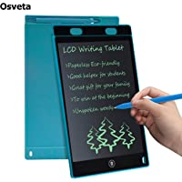 Osveta LCD Writing Screen Tablet Drawing Board for Kids/Adults, 8.5 Inch(Black)