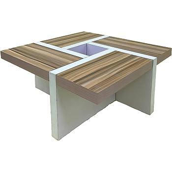 Rebecca Mobili Table de Salon Table Basse Bois Design Moderne Sejour Lounge  (Cod. re4803 1c7dbce87e9c
