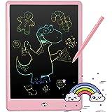 LEQUEEN LCD Schreibtafel Bildschirm Zeichenbrett 10 Zoll bunt Doodle Scribbler Pad Kinderspielzeug für Kinder 3-6 Jahre altes