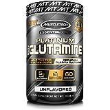 MuscleTech Série Essential Poudre de Glutamine 100% Platine