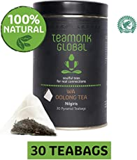 Teamonk Nilgiri Wa Oolong Tea for Weight Loss, 30 Teabags
