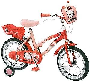 YA Hello Kitty Kinder Fahrrad (14 Zoll) mit liebevollen