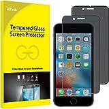 JETech Schutzfolie für iPhone 6s und iPhone 6, Anti-Spähen Gehärtetem Panzerglas Blickschutzfolie, 2 Stück