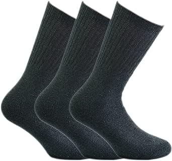 6 paia di calze sportive in cotone spugna