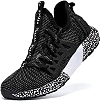 Boys Trainers Kids Road Running Shoes Girls School Trainers Children's Tennis Shoes Breathable Mesh Athletic Sneakers…