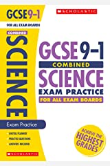 GCSE Combined Science Practice Book for All Boards. Perfect for Home Learning and includes a free revision app (Scholastic GCSE Grades 9-1 Revision and Practice) Paperback