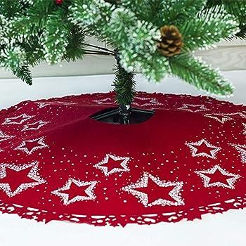 Asommet Weihnachtsbaumdecke, Tannenbaum Decke, Christmas Tree Skirt ...