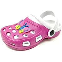 Carcassi Childrens Kids Girls Boys Holiday Summer Beach Pool Clogs Sandals Shoes Size 6-2