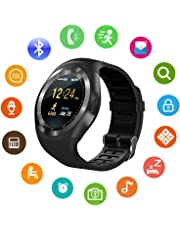 VITALEO Unisex Bluetooth 4g Smart Watch for Men/Girls/Women/4g Sim Card Support/Touch Screen/Compatible with All Android Mobile Phones,Smart Watches for Kids Boys,Digital Watch for Boys (Random Color)