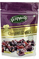 Happilo Premium International Omani Dates, 250g (Pack of 1)