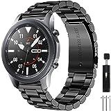 CAVN Cinturino Compatibile con Samsung Galaxy Watch 46mm / Galaxy Watch 3 45mm /Huawei GT 2 46mm, 22mm Inossidabile Cinturino