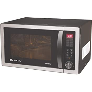 Bajaj 25 L Convection Microwave Oven (2504 ETC, Silver Grey)