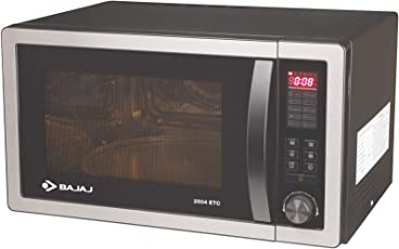 Bajaj 25 L Convection Microwave Oven (2504 ETC, Silver Grey)