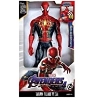 Toyico Avengers Spider Man Action Figure 6 inches Infinity war Toy, Age 3 Years & Up (Battery Operated)