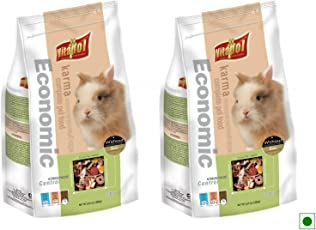 Vitapol Economic Food for Rabbits with High Fibre & Vitamins_2.4 KGs (2 Packs of 1200 GMS)