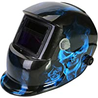 LESOLEIL Masque de Soudage - Masque de Soudeur Casque de Soudage Automatique Actionné Li-Mi&Solaire DIN 9-13 avec 2…