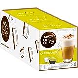 NESCAFÉ Dolce Gusto Cappuccino Arabica en Robusta bonen/volmondige koffie en soepel melkschuim/aroma verzegelde capsules/verp